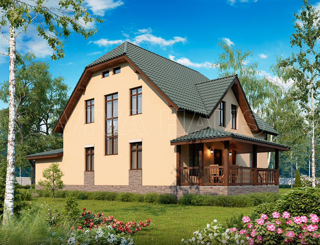 Каркасные дома Экопоселок Русский лес